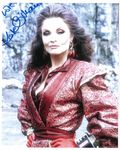 Kate O'Mara 'The Rani'  DOCTOR WHO Genuine Signed Autograph 10 x 8 COA 10411